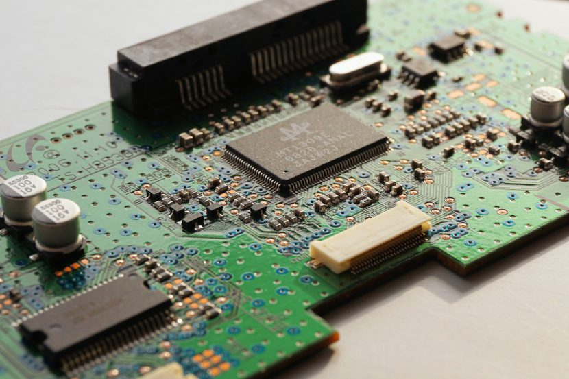 Elektronik, Computerchips, Platine